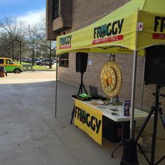 Come spin the prize wheel with @radiofroggy at #CCAC #Boyce Campus today! #CCACOpenHouse