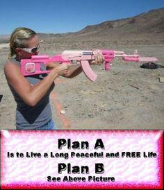 Sweet pink gun