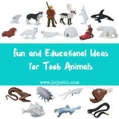 Lots of ideas on how to use Toob Animals, how does your kid play with theirs?