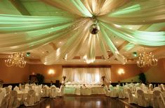 How to Decorate a Gymnasium for a Wedding ~MB