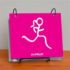 Run Girl BibFOLIO for my race numbers!:D