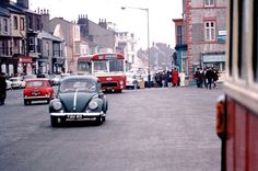 The Front near to bus station seaton carew Tom Collins, North East England, Bus Station, Old Pictures, Buses, Roots, 1960s, Oven, The Past