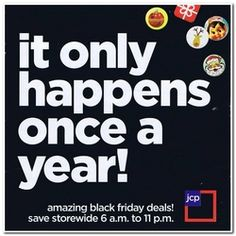 JCPenney 2012 Black Friday Deals