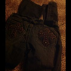 Mens cross jeans Dark denim, new condition ? Jeans