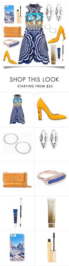 """Scalloped Dress..**"" by yagna ❤ liked on Polyvore featuring Mary Katrantzou, Paula Cademartori, Brooks Brothers, Chanel, Monica Vinader, Stila, Xen-Tan, Gray Malin and vintage"