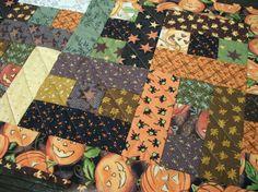 Halloween Table Runner October Glow Fall Autumn by atthebrightspot, $68.00 #etsy #handmade