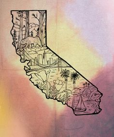 love this tatt . Thinkin bout gettin something like it to show my love for Cali.