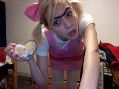 "Helga Pataki from ""Hey Arnold"" costume   best #Halloween costume ever!"