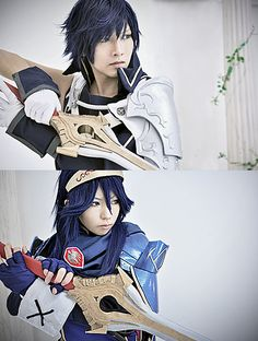 Chrom and Lucina Cosplay - Fire Emblem Video Game Cosplay, Epic Cosplay, Casual Cosplay, Amazing Cosplay, Cosplay Outfits, Cosplay Costumes, Halloween Costumes, Anime Cosplay, Cosplay Ideas