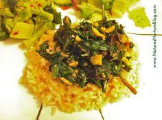 Dandelion Greens & Spinach Stir-Fry