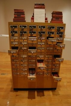 Library Card Catalog | Tumblr