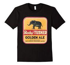 """Men's """"Baby"""" Tusker Beer T Shirt 2XL Black BDB TEES https://www.amazon.com/dp/B01HWZUQFE/ref=cm_sw_r_pi_dp_QYLExbZASSA0V"""