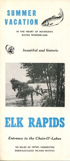 Vintage Muskegon County, Michigan, travel brochure Vintage - travel brochure