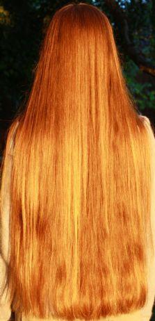 .long hair, such a unique color