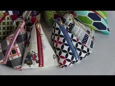 """パッチワーク Patchwork Quilt Vol.13""""UltimatePyramidal Purse(triangle purse) """"「..."""