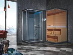 ETHOS L Ethos Collection By Gruppo Geromin design Franco Bertoli Traditional Saunas, Finnish Sauna, Wooden Cabins, Bathroom Goals, Turkish Bath, Wellness Spa, Bath Design, Heating Systems, Bath