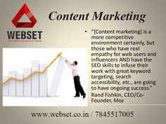 http://www.webset.co.in/ webset provides a best content marketing service.It's help to reach the target and create traffic among search engine. #seo_training_in_chennai #seo_in_chennai #seo_course_in_chennai for More details: visit :www.webset.co.in call :7845517005