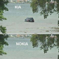 What an amazing observation #nokia #kia #gone #southafrica