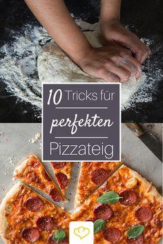 Für Pizza wie vom Italiener: die besten Tipps und Tricks für den perfekten Pizzateig!