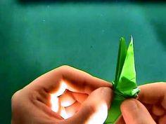 How to make an origami crocodile 2/2 - YouTube