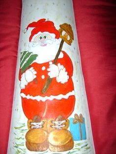 Pai Natal pintado por Teresa .