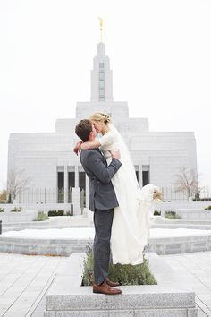 Sadie Trevor // Draper Temple Wedding