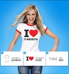 Interesting T-Shirt Designs – Create your own