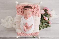 Newborn Portrait Studio Session – Westchase | Kelly Kristine Photography