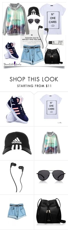 """""""Untitled #37"""" by my-fashion-paradise ❤ liked on Polyvore featuring adidas, Skullcandy, The Row, Kate Spade, women's clothing, women, female, woman, misses and juniors"""
