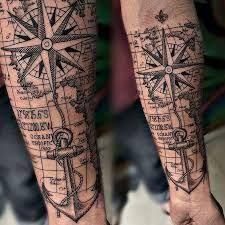 Resultado de imagem para significado da rosa dos ventos tatuagem
