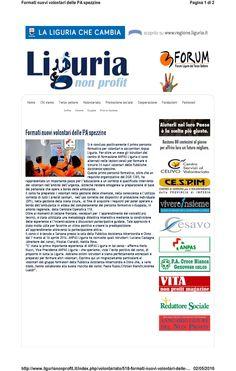 Liguria Non Profit 20 aprile