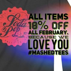 #loveisintheair #sale all items 10%off all February #MashedTees  Be the envy of the civilised world.  Click on the profile link to visit our website.  #menswear #womenswear  #tees #hoodies #totes #urbanfashion #design #urbanware #apparel #original #musthave #accesories #madeinegland
