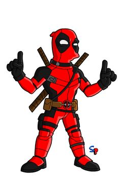 Deadpool (from the Deadpool movie) You asked for him. Marvel Universe Characters, Batman Universe, Simpsons Characters, Comic Book Characters, Comic Books, Dead Pool, Marvel Heroes, Marvel Comics, Simpsons Drawings