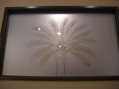 This frosted glass window is hand-crafted, sandblast frosted and 2D etched and shaded.  Available any size, all glass is custom made to order and shipped worldwide