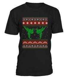 Christmas taekwondo sweater shirt funny