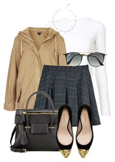 """""""Bez tytułu #707"""" by nikolaa1394 ❤ liked on Polyvore featuring Proenza Schouler, Topshop, Ray-Ban, Tom Ford and Zara"""