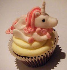 How to make a fondant Unicorn cupcake topper video (21 mins long but great detail ☺)