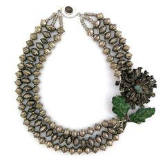 Flourish Happily necklace by Elva Fields #elvafields