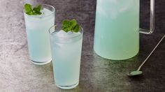 Spiked lemonade is a summertime favorite! Spruce it up by adding in a little blue raspberry vodka. Refreshing!