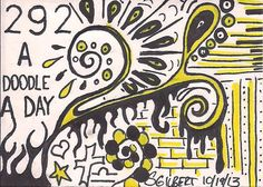 A Doodle A Day #292, ink, 10/19/13