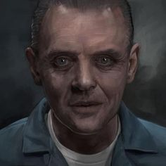 Riffing on the actor thing here's Sir Anthony Hopkins as Hannibal Lecter Hannibal Lecter Hannibal Lecter, Dr Hannibal, Great Films, Good Movies, Awesome Movies, Clarice Starling, Famous Serial Killers, Sir Anthony Hopkins, Top Film