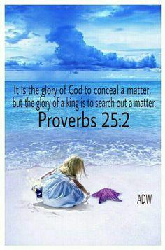 Proverbs 25:2