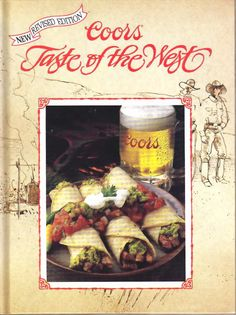 TASTE of the WEST  Vintage Cook Book    From Coors by BunnysLuck, $11.99