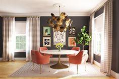 How to Design the Perfect Floor Plan | Decorist Home Design Living Room, Design Your Home, Dining Room Design, Interior Design Degree, Interior Design Portfolios, Style Tile, Contemporary Interior Design, Decoration, Luxury Furniture