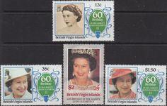 British Virgin Islands Stamps 1986 Queen Elizabeth Birthday SG 600 Fine Mint Scott 532 Other Virgin island Stamps HERE