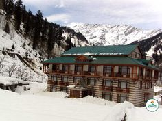 #Resort in #Manali is especially dedicated to #ski-lovers
