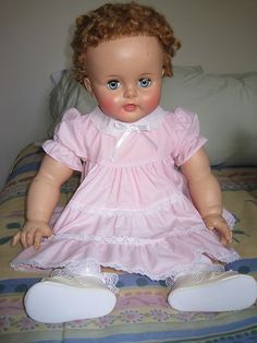 Vintage Ideal Suzy Playpal Doll OB 28-5 1959-1960, original owner, very clean  $100