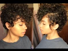 In love with this cut and curls