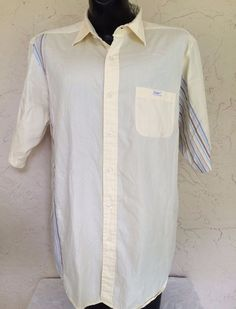 Ecko Unltd Mens Button Front Short Sleeve Shirt Size 2XL Spring Summer Color #EckoUnltd #ButtonFront