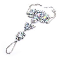 Glamorous Jeweled Crystal Barefoot Sandals Weddings. Bling Foot Jewelry Bare Foot Sandals